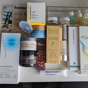 13 Piece High End Skin Bundle Lot + Xtra